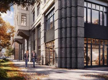 Первые этажи займут коммерческие помещения